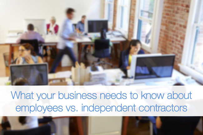 The Difference Between Employees And Independent Contractors