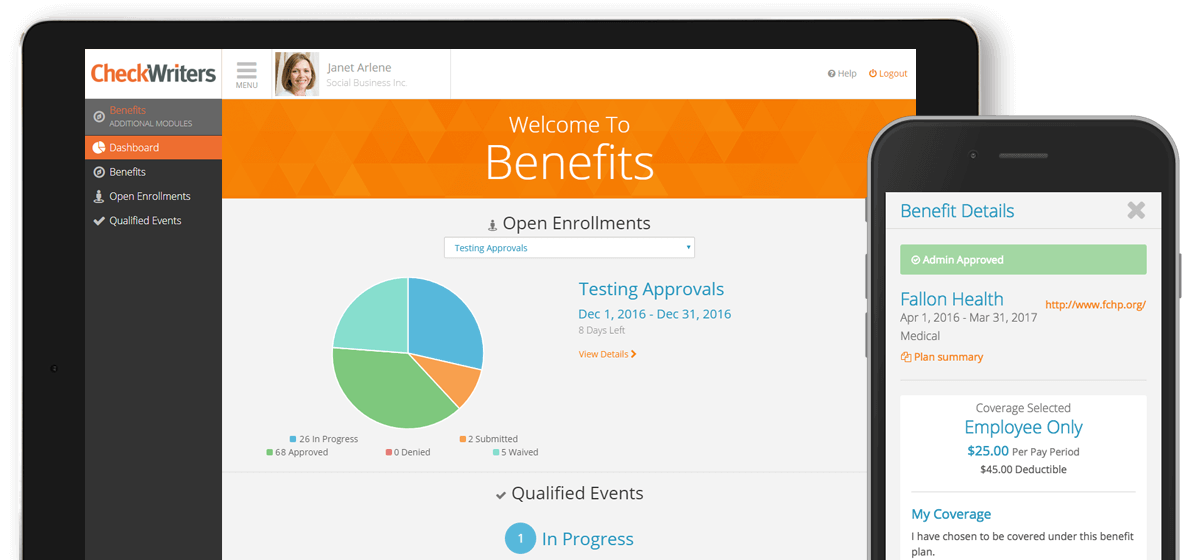 Benefits Dashboard